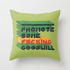 Goodwill Throw Pillow
