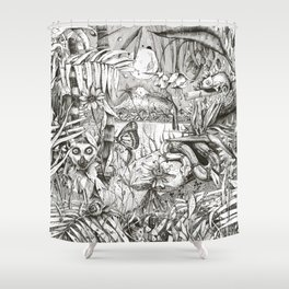 Jungle 02 Shower Curtain