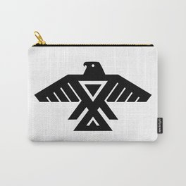 Thunderbird flag - Authentic Hi Def Carry-All Pouch