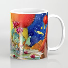 Floating houses Coffee Mug