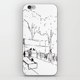 Architecture Handdcrafting iPhone Skin