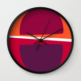 Colour Lovers Wall Clock