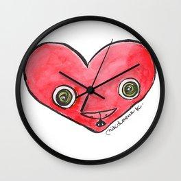 """Oro?"" Valentine's Heart Wall Clock"