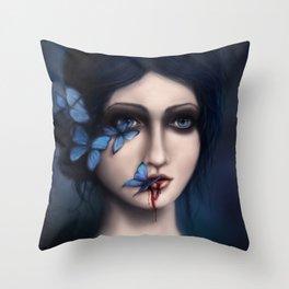 Nox Aeterna Throw Pillow