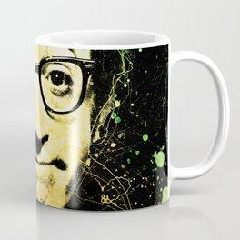 Woody Allen Splashes Coffee Mug