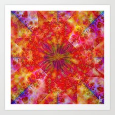 Fractal Imagination III Art Print