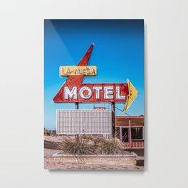 La-Mesa Motel Metal Print