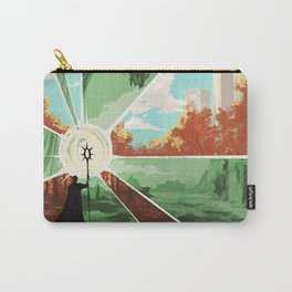 The world that wakes, the world that dreams Carry-All Pouch