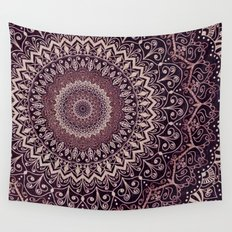 MARSALA MANDALA Wall Tapestry