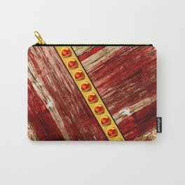 Wood and jewels Carry-All Pouch
