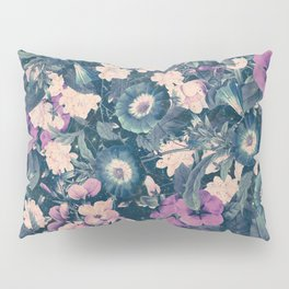 Floral Nights Space Dreams Pillow Sham