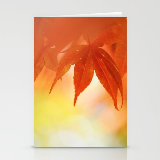 Autumnal tints Stationery Cards