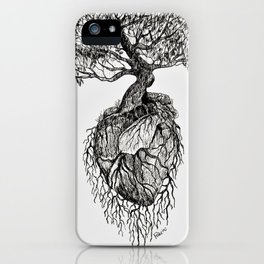 A Word of Hope in a Heart iPhone Case