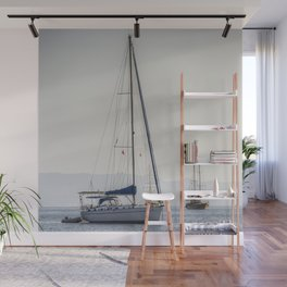 The Relaxation Yacht Wall Mural