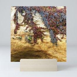 sand and sea Mini Art Print