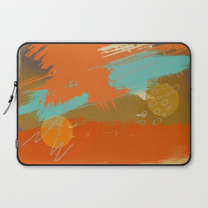Secret Places Abstract Landscape Art Laptop Sleeve By