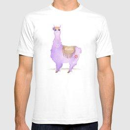 Hippie Llama T-shirt