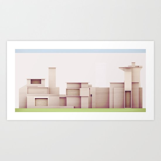 Elevations Art Print