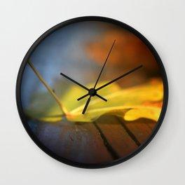 the fallen leaf Wall Clock