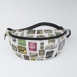 Vintage Victorian food cans Fanny Pack