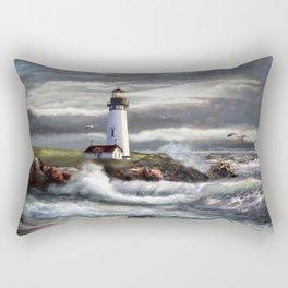 Beam of Hope Rectangular Pillow