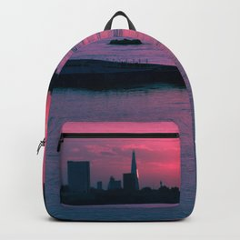 Sunset at Greenwich Backpack