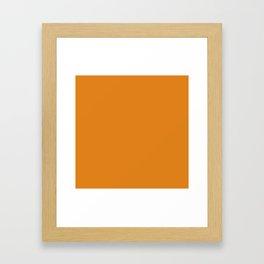NEW YORK FASHION WEEK 2019- 2020 AUTUMN WINTER DARK CHEDDAR Framed Art Print