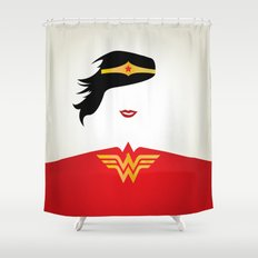 Wonder Girl Shower Curtain