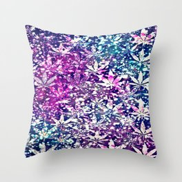 gorgeous weed-300 Throw Pillow