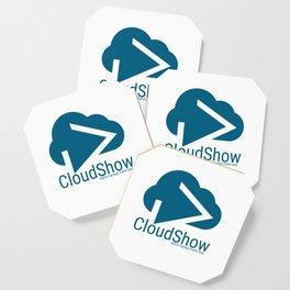 CloudShow (blue logo) Coaster