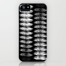 Botanical Contrast iPhone Case