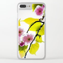 Cherry Blossom Tree Clear iPhone Case