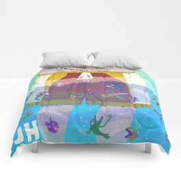 Plankton Skum Comforters