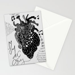 Music cures Stationery Cards