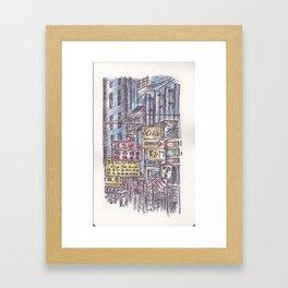 Ballpen Hong Kong 14 Framed Art Print