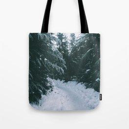 Winter Trails Tote Bag
