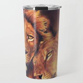 Lions Soulmates Travel Mug