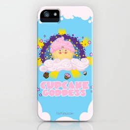Cupcake Goddess iPhone Case