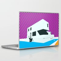 bauhaus Laptop & iPad Skins featuring Bauhaus Meisterhaus Pop by Marko Köppe