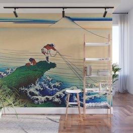 Katsushika Hokusai - Koshu Kajikazawa Wall Mural