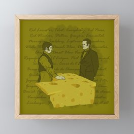 Any cheese at all? Framed Mini Art Print
