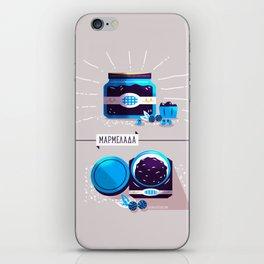 :::Sweet blueberry marmalade::: iPhone Skin