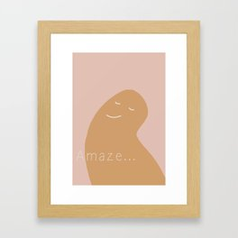 Amaze Framed Art Print