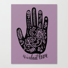Life and Love Canvas Print