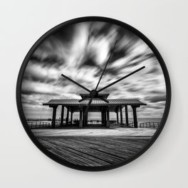 Coney Island Boardwalk Wall Clock