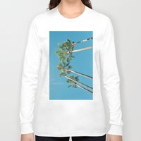 palm tree Long Sleeve T-shirts featuring Palm tree by Laura James Cook
