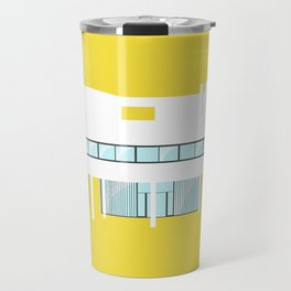 Iconic Houses - Villa Savoye Travel Mug