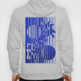Two moons. Blue Hoody