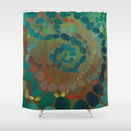 HARMONY OF COLORS Shower Curtain