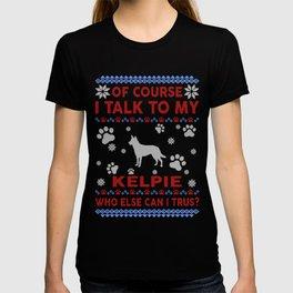 Kelpie Ugly Christmas Sweater T-shirt